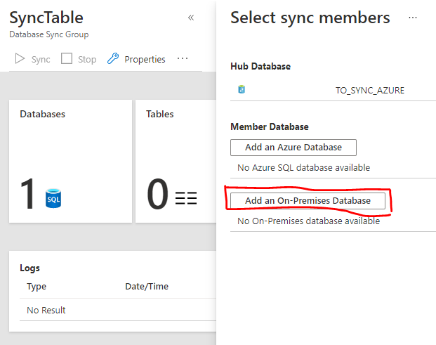 add on premises database